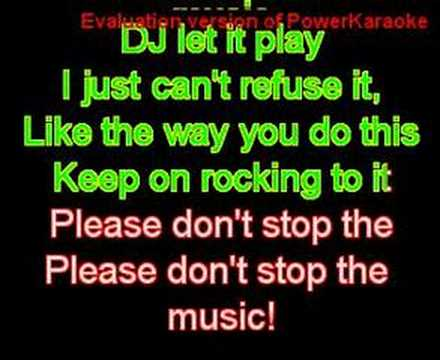 rihanna - please don't stop the music