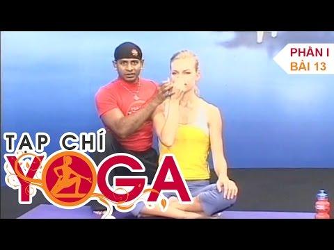 Hướng dẫn tập Yoga cho người mới bắt đầu - Tạp chí yoga - P1 Bài 13