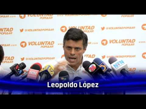 Leopoldo López: Maduro agobia al pueblo con la verdadera #TrilogíaDelMal