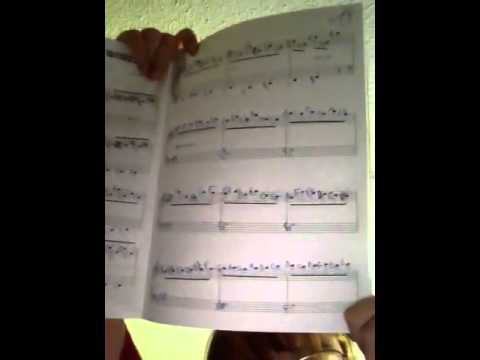 Sheet music - Liz on top of the world pride & prejudice