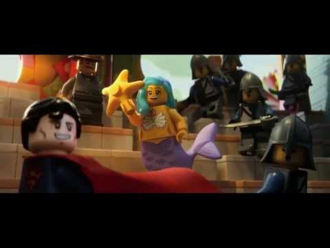 The LEGO Movie Official Trailer (Lego Movie Reveal Teaser Trailer 1080p HD)