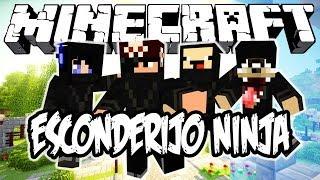 ESCONDERIJO NINJA! Minecraft (NOVO)