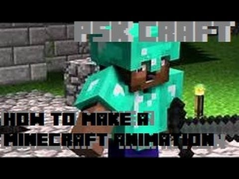 How to Make a Minecraft Animation: A Cinema 4D Tutorial- PSK Craft
