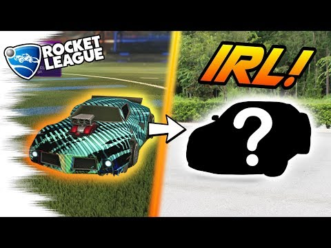 BUYING my REAL LIFE Rocket League CAR! - IRL Showcase, Driving, and... Trading?
