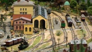 Modellbahn Spur Z von Lübeck auf der Messe Intermodellbau Dortmund 2016