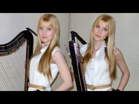 SILENT HILL Medley (Harp Twins electric) Camille and Kennerly