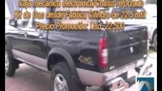 Camioneta ZNA Doble Cabina 4x4 Modelo 2011
