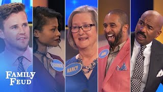Family Feud's BEST BLOOPERS and EPIC FAILS!!! | Part 1