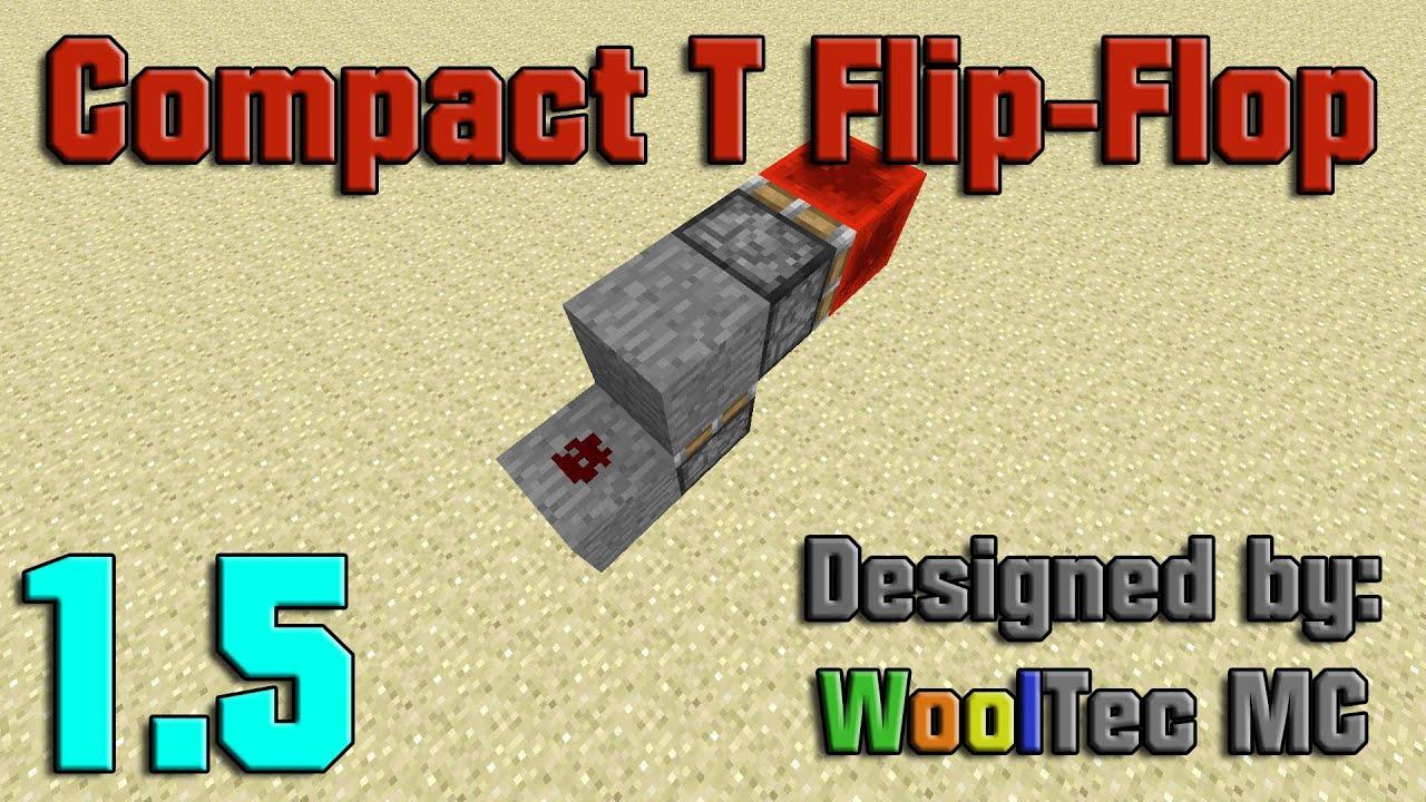 Flip Flops Minecraft T Flop Logic Diagram For Pictures Of