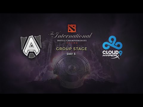 Cloud9 -vs- Alliance, The International 4, Group Stage, Day 3