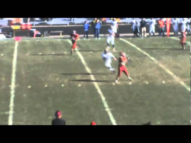 11-19-11 - It's a 26 yard pass from Mitch Tormohlen to Traver Blake