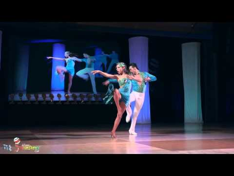 David Zepeda & Paulina Posadas - on2 finals 1st place - World Latin Dance Cup 2011