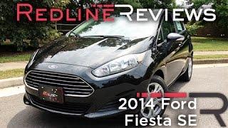 2014 Ford Fiesta SE Review, Walkaround, Exhaust, & Test Drive
