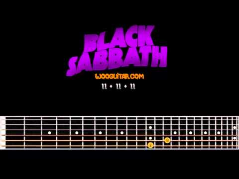 Black sabbath Paranoid Guitar Cover Lesson