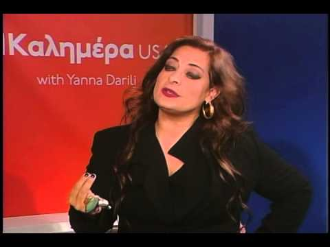 Alexia Vassiliou on Kalimera USA