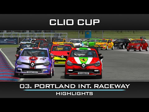 rFactor Clio Cup: USA - Vanport Highlights
