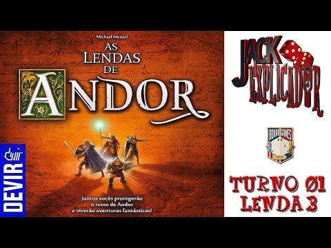 AS LENDAS DE ANDOR  -  TURNO 01