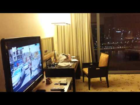 Mbs Marina Bay Sands Singapore corner hotel room city view