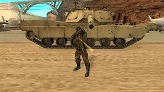 GTA San Andreas: How To Get Army Uniform (GTA San
