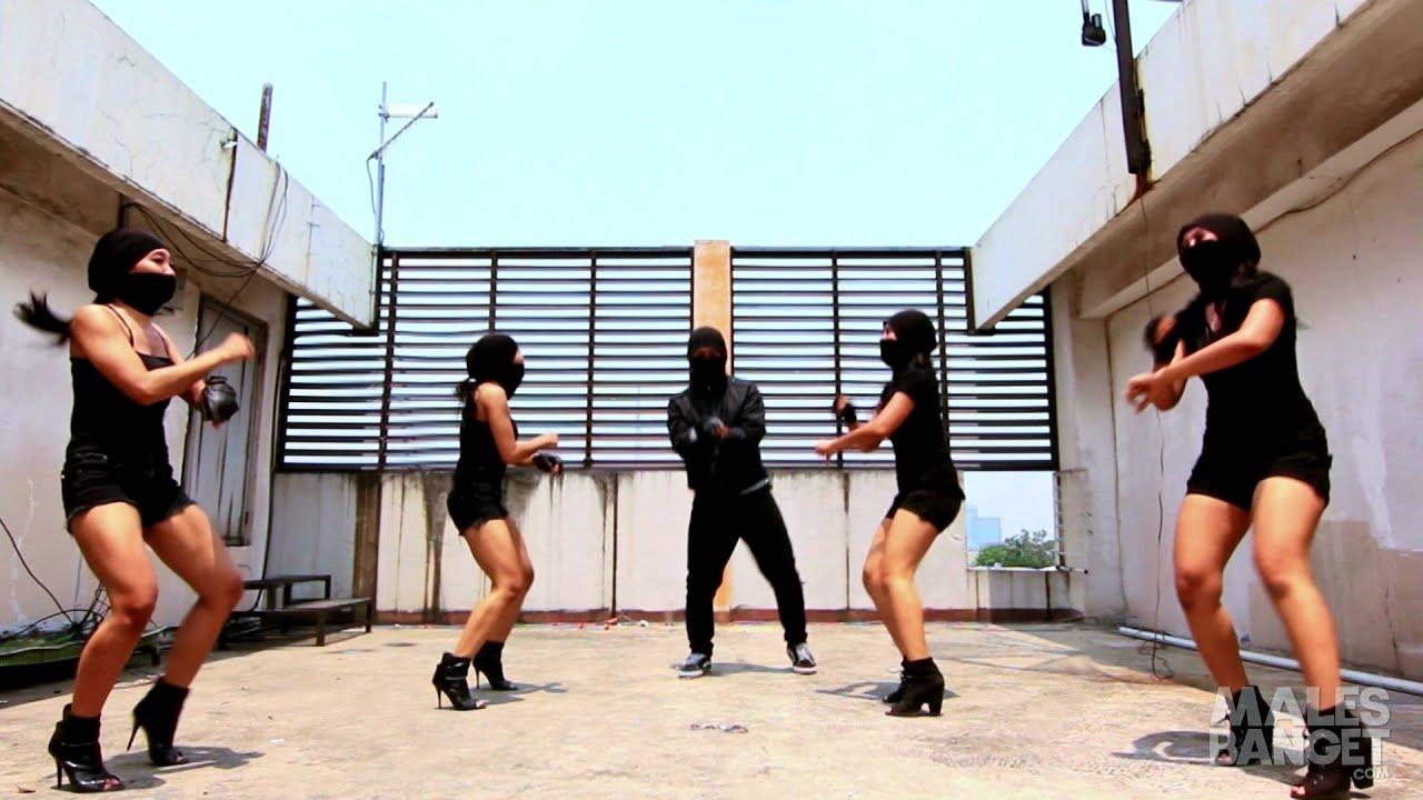 Sexy ninja gangnam style dance indonesia youtube