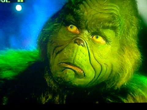 The Grinch =Jim Carrey dress up time - YouTube