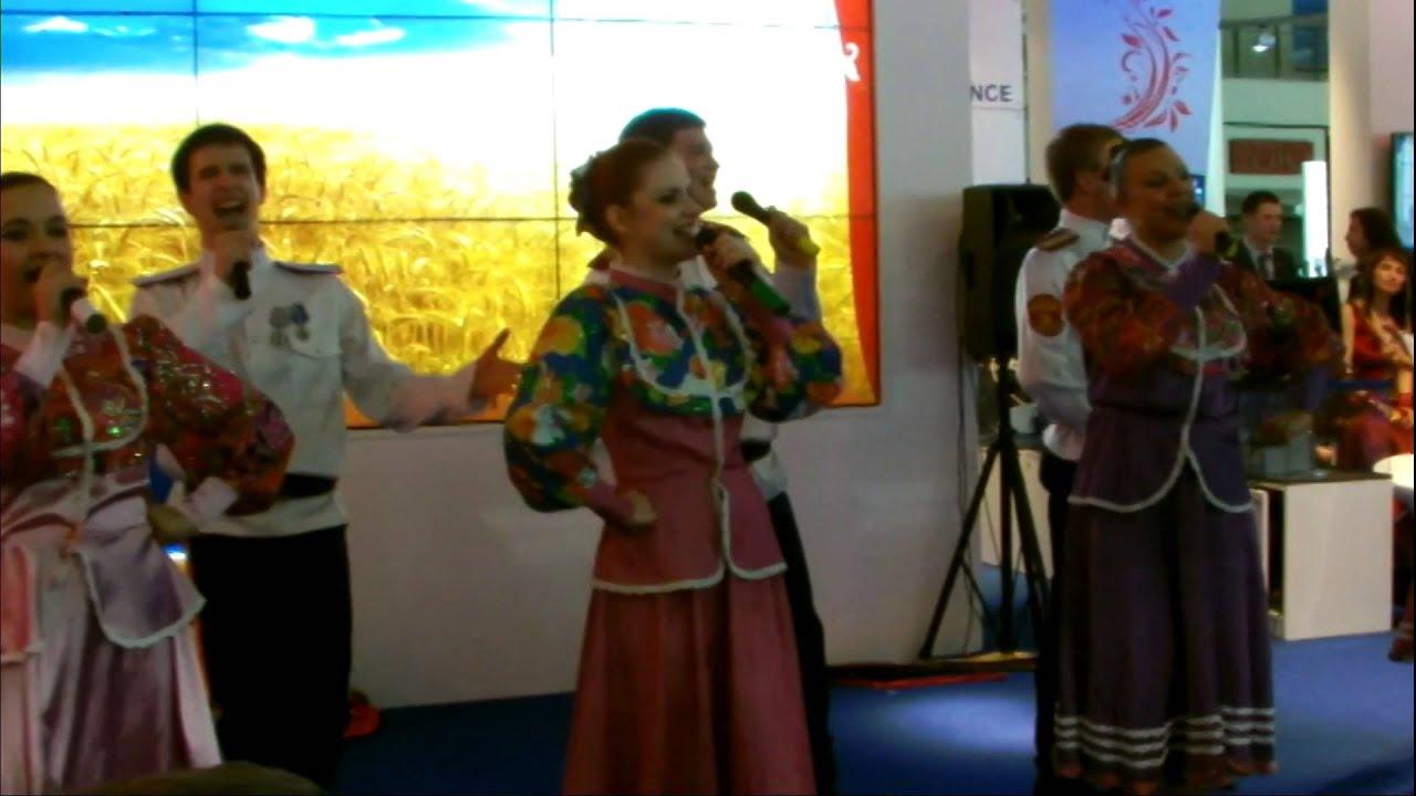 """В.В. Путин в Ганновере на открытии общепромышленной выставки """"Hannover Messe 2013""""."""