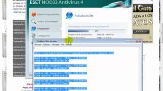 Nombre De Usuario Y Contraseña Para Nod32 Actualizaciones