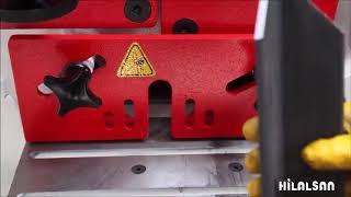 Hillalsan гидравлические комбинированные пресс-ножницы