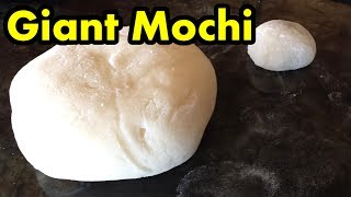 Giant New Year's Mochi!!