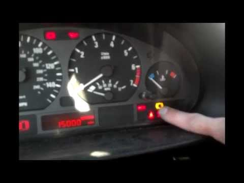 Bmw X3 Warning Lights Reset