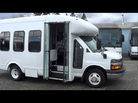 Northwest Bus Sales - 2006 Chevrolet Startrans 14 Passenger Diesel Shuttle For Sale - S23914