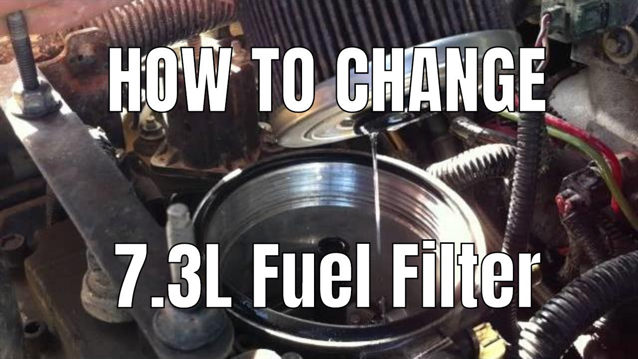 change fuel filter ford f250  change  free engine image
