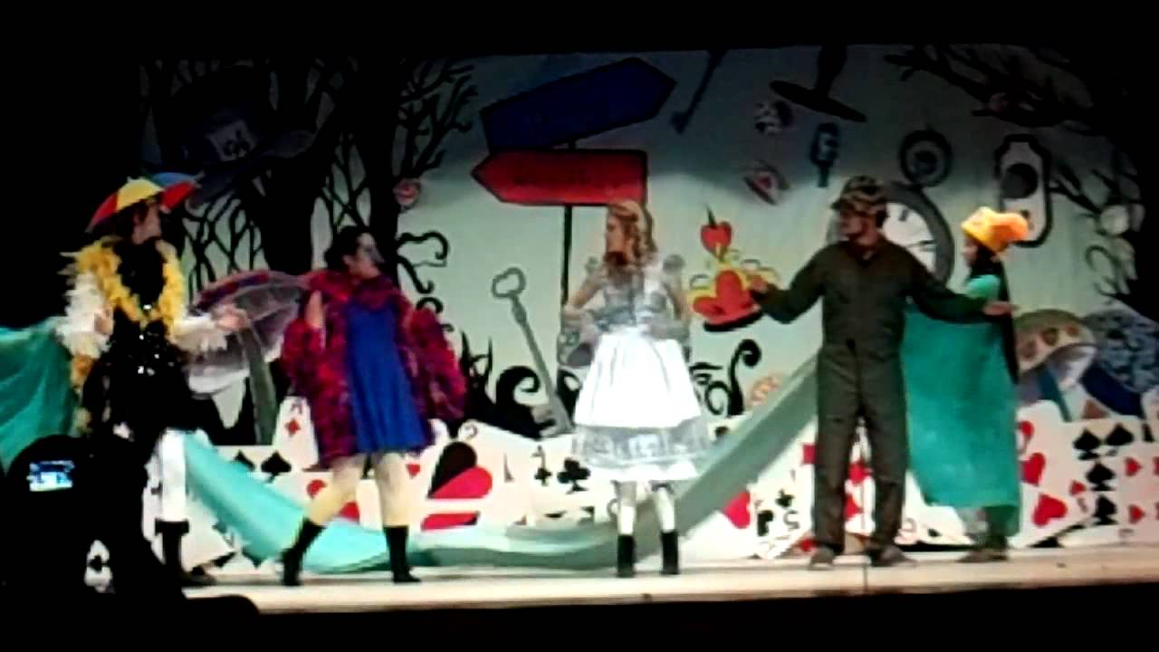one act play alice in wonderland