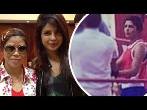 Priyanka Chopra's MARY KOM LOOK REVEALED