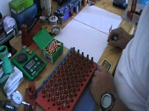 Reloading precision rifle ammunition Part 17