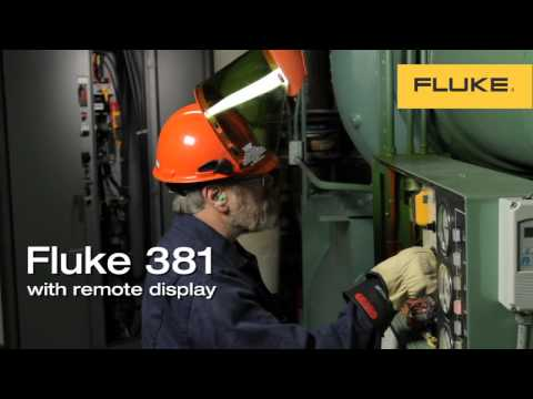 Fluke 381 Remote Display Clamp Meter