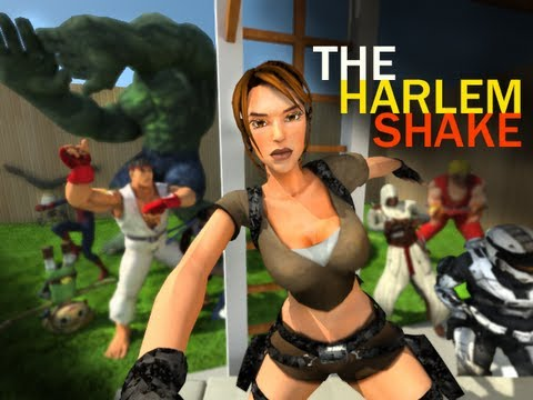 The Harlem Shake - 3D Games