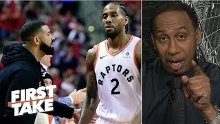 'I'm stunned, I thought it was over after Game 1' – Stephen A. on Bucks vs. Raptors | First Take