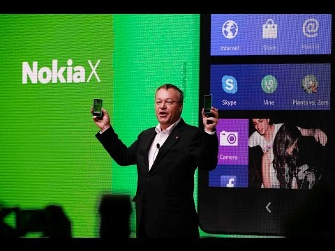 Nokia Launches Nokia X At Mobile World Congress In Barcelona