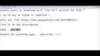 Free half life 2 steam key giveaways