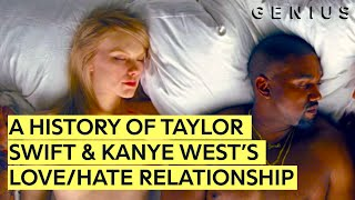 A History Of Taylor Swift & Kanye West's Love/Hate Relationship