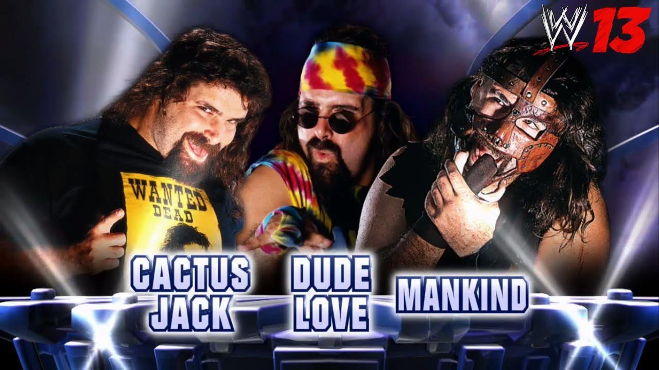 ... 10 Fantasy Matches: 9. Cactus Jack vs. Dude Love vs. Mankind - YouTube Love Images For Orkut