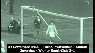 24/09/1958 - Coppa dei Campioni - Juventus-Wiener Sport Klub 3-1