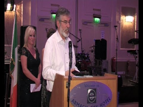 Gerry Adams honoured by Sinn Féin Cúige