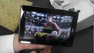 "New Acer Iconia A110 7"" Android JellyBean Tablet Unboxing"