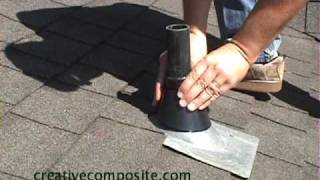 Roof Repair Of Plumbing Vent Pipe