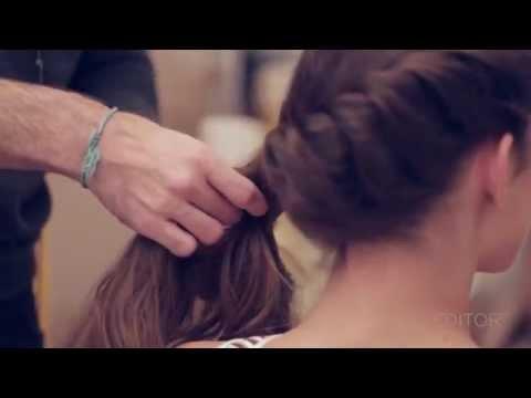 Como fazer um penteado com trança espinha de peixe