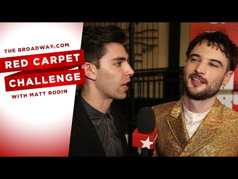 RED CARPET CHALLENGE: 1984 with Olivia Wilde, Tom Sturridge and Reed Birney