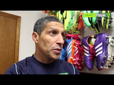 Chris Hughton One-On-One Ahead of Fulham Clash