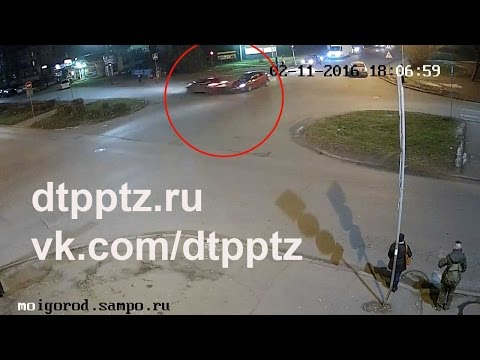 ДТП на Октябрьском проспекте